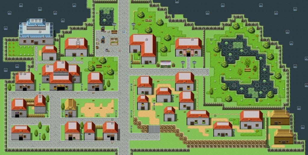 Größere Stadt